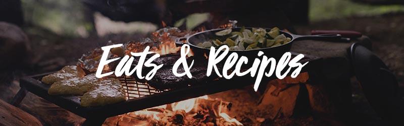eats and recipes Camperland.tv